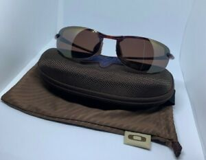 Maui Jim Makaha Sport Sunglasses 405-10 Tortoise HCL Bronze Polarized w Case