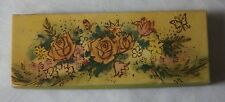 Avon Vintage Hostess Bouquet Set of 3 Unused Soap Embossed Cakes