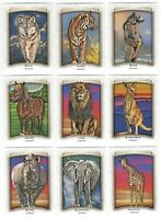 2017 Upper Deck Goodwin Champions ANIMALS of the WORLD Complete 32 card set/lot!