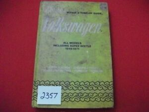 VINTAGE 1949-1971 VOLKSWAGEN REPAIR & TUNE-UP GUIDE ALL MODELS INC. SUPER BEETLE