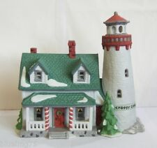Dept 56 New England Village Craggy Cove Lighthouse #59307 (Y493Ex)