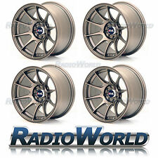 "XXR 527® 18"" x8.75 / ET35 5X114.3 + 5x100 Light Alloy Wheels Rims Flat Bronze"