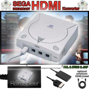 SEGA Dreamcast Full HD Kit HDMI Konverter Controller Verlängerung Kabel Adapter