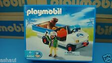 Playmobil 4464 zookeeper zoo city life series mint in Box geobra seal car NEW