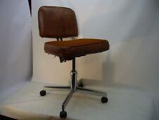 VTG Industrial Office rolling adjustable chair Vinyl & Frabic Seat
