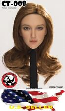 1/6 Female Head sculpt American European CT008C for Phicen Hot Toys KUMIK❶USA❶