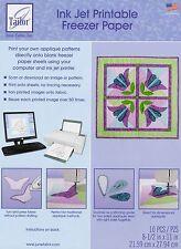 """Ink Jet Printable Freezer Paper, 8 1/2 x 11"""", 10/pkg. June Tailor JT-408"""