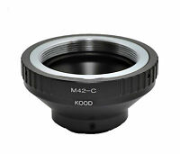 Kood C mount  to M42  Lens adapter