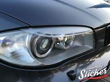 BMW 1er Scheinwerferblenden Aufkleber LCI E87 E81 E82 E88 Performance Devil Eyes