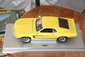 Ford Mustang Grabber, 1970, Yellow, 1:18, ERTL American Muscle, Rare