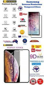 Samsung Galaxy iPhone Tempered Glass Screen Protector SAME DAY DISPATCH SYDNEY !