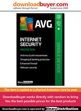AVG Internet Security 2020 - 10 PC- 1 Year [Activation card]