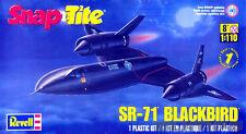 Revell Snap Tite 1:110 SR-71 Blackbird Plastic Model Kit 85-1187 851187
