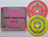 ⭐⭐⭐⭐  Vol. 18  ⭐⭐⭐⭐  Tunnel Trance Force ⭐⭐⭐⭐  36 Track 2CD  ⭐⭐⭐⭐