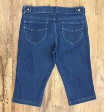Old Navy Classic Rise Denim Capri Light Stretch Cropped Jeans Womens Size 12