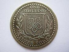 Leicestershire, undated silver Shilling token. ACS