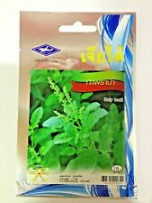Holy Basil Seed Tulsi Thai Kaprao Ocimum Sanctum Tenuiflorum Herb 2,970 Seeds