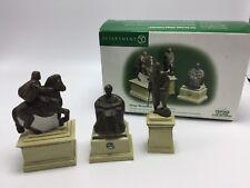 Dept 56 Heritage Village Village Monuments Set of 3 In Package # 56.55524