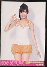 AKB48 JAPANESE IDOL Mayu Watanabe  PROMO PHOTO official calendar box 2013