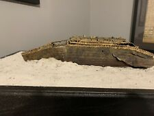 RMS Titanic Wreck Model 1/350 Scale With Oak Base