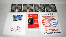 Larousse Spanish-English Basico Dictionary w/ 4 CDs and Sentence Practice Book