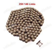 25H 146L Kette Mit Spare Master Link für Mini Dirt ATV Minimoto Pocket Bikes