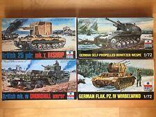 1/72 ESCI Panzer WK II Konvolut NOS alt vintageDachbodefund