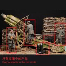 1/35 3pcs Resin Figure Model Kit German Soldiers Artillery (no gun) WWI Unpainte
