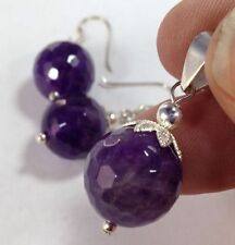 Natural Amethyst Fine Jewellery Sets