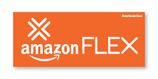 Amazon Flex Car Magnet – Not Sticker/Decal – Easy Install/Remove