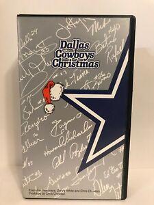 Dallas Cowboys Christmas 1980's VHS, Danny White And Chris Chrisitan Texas