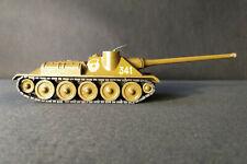 Vintage Soviet USSR Russian Military Vintage toy Model SU-100 Tank Armor Vehicle