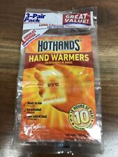 Hot Hands Hand Warmers 3-Pair Pack New Exp 6/21