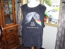 Woman's Pink Floyd Dark Side of the Moon 2016 Tank Top T-Shirt Size 2X
