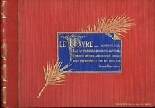 Leconte Le Havre Francia nastro immagine con 12 FOTO ORIGINALE PER 1895 Normandia