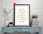 Roald Dahl Quote  Gold Foil Print Vintage Foil Rose Gold Wall Art