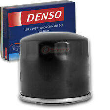 Denso Oil Filter for Honda Civic del Sol 1.6L 1.5L L4 1993-1997 Engine Tune cf
