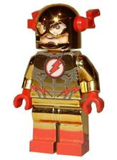 **NEW** LEGO Custom Printed CHROME REVERSE FLASH Super Hero DC Minifigure