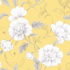 Boutique Papier peint fleur jaune - Rasch 226164 fleurs