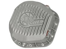 afe Rear Differential Cover (Raw; Street Series); Ford Diesel Trucks 86-13 V8 (t