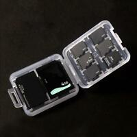 Memory Card Storage Case Holder with 8 Slots for  SDHC MMC Micro  Cards
