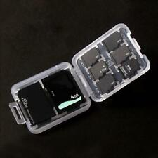 Memory Card Storage Case Holder with 8 Slots for SD SDHC MMC MicroSD Cards A7Q1
