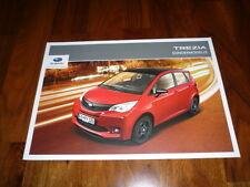 Subaru Trezia SPORT / EDITION Prospekt 05/2012