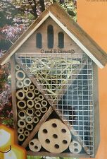 Insect Bug Hotel Shelter Bee House Butterfly House Ladybird Hibernation NEW