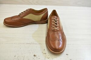 Tommy Bahama Felman Wingtip Oxford, Men's Size 7, Whiskey MSRP $100