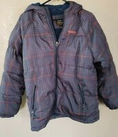Boys Blue PACIFIC TRAIL Winter Coat Puffer Jacket Size Large L 14/16 snowboard