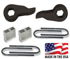 "1982-2004 S10 S15 Sonoma 3""-4"" Drop Kit Lowering Torsion Keys Adj 4x4 Blocks"