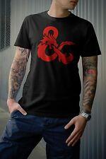 Dungeons & Dragons Red Logo Tshirt