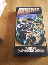 Godzilla Vs Monster Zero VHS