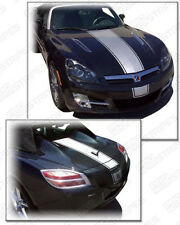 Saturn Sky Factory Style Center Racing Stripes Decals 2007 2008 2009